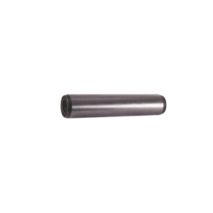 Cylindrical pin with internal thread