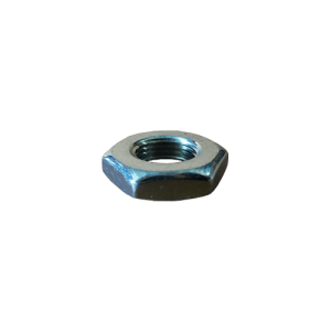 Short hexagonal fine-thread nut