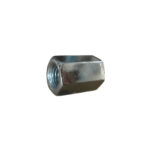 Elongated hexagonal nut