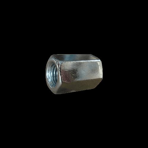 Elongated hexagonal nut