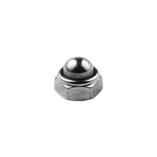 Blind rounded safety nut